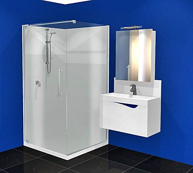 Dreamline Cube 1m shower