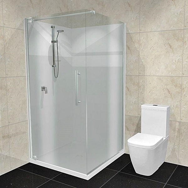 Dreamline Cube shower Acrylic walls
