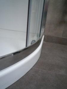 Alcove Shower Chrome Door Frame