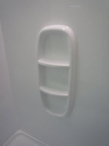 Alcove Shower Moulded Shower Wall