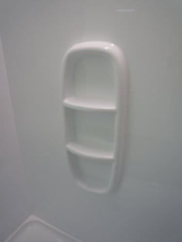 Shower Moulded Shower Wall