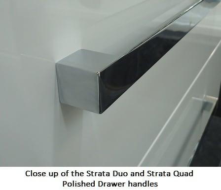Strata Duo Wall Hung Vanity Handle