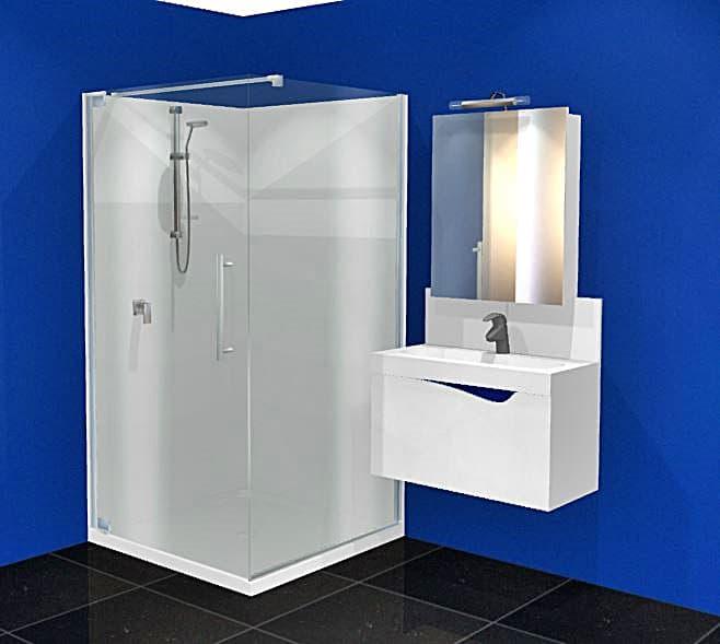 Dreamline Cube 1m shower