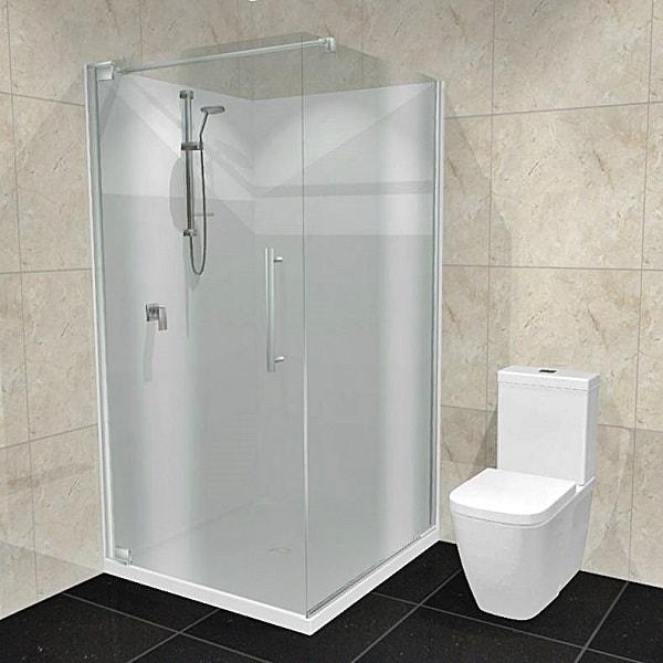 Dreamline Cube shower Acrylic walls