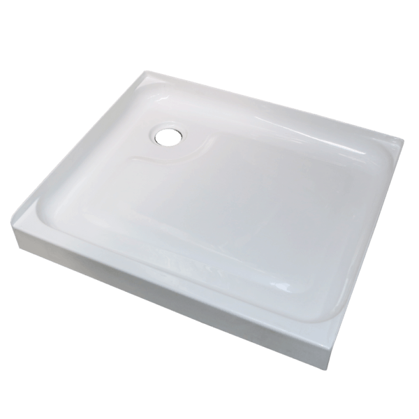 760 x 900 rear waste shower tray Henry-Brooks