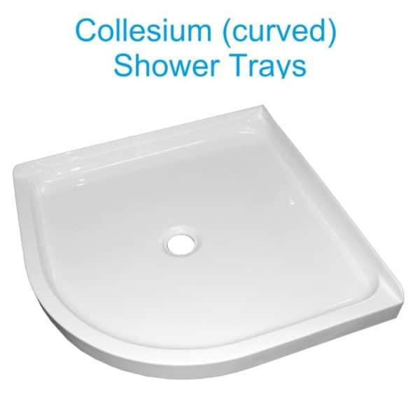 Collesium center waste shower trays henry brooks