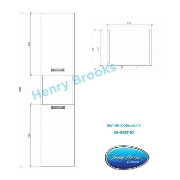 2 door Strata Tall Tower Henry Brooks