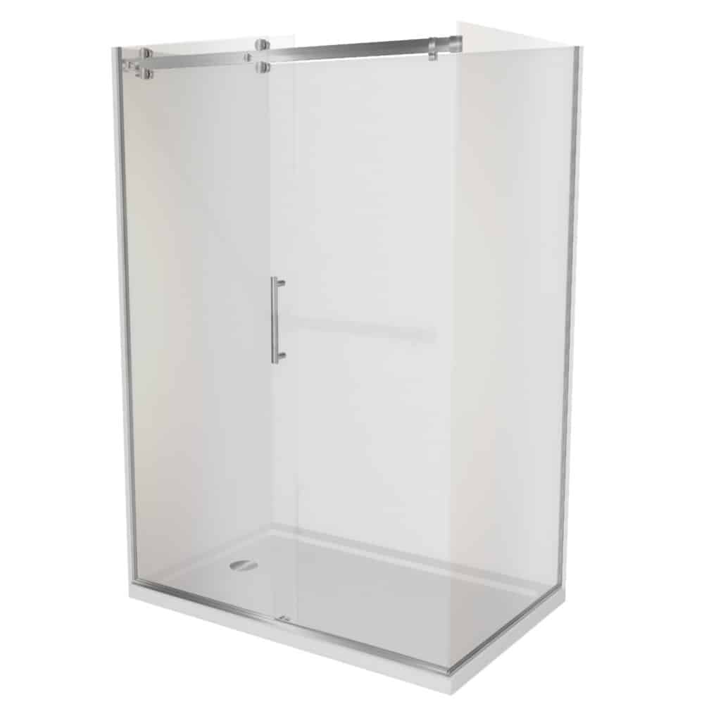 Corner Shower 1200x900 Complete Dreamline Shower With Tray