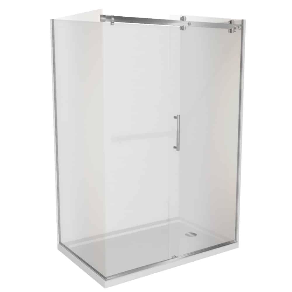 Corner Shower 1400x900 Complete Dreamline Shower With Tray