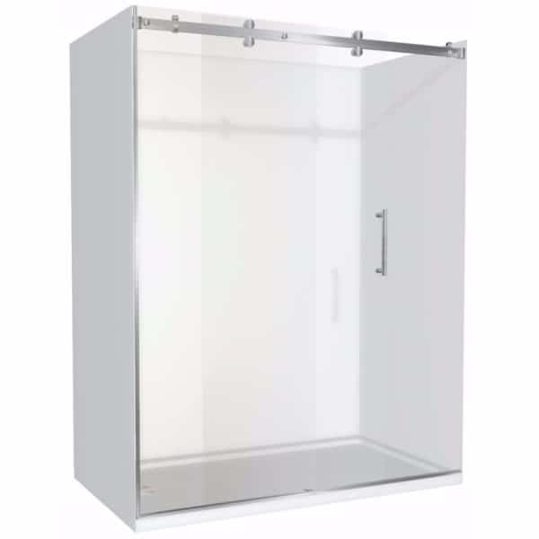1600 x 900 shower 3 walled Alcove Henry Brooks lh-sq