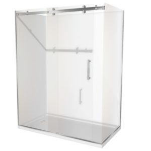 1800 x 900 shower 2 walled Corner Henry Brooks rh-sq