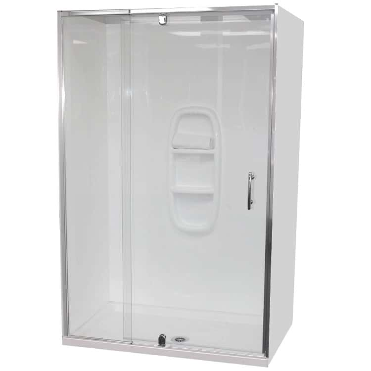 Alcove Shower Enclosures (3 walled)
