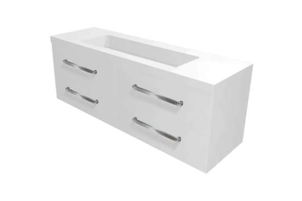 Wall Hung Vanity Strata 1500mm wide