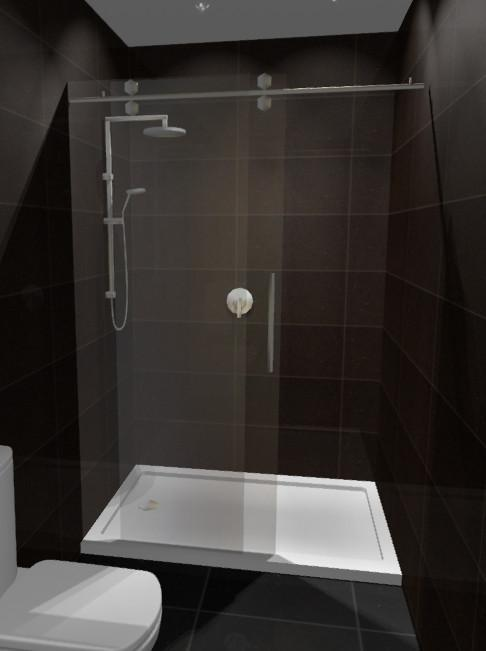 Alcove Shower 1400x900 Complete Dreamline Shower With Tray