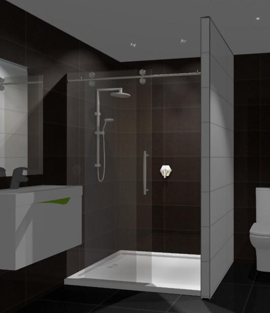 Alcove Shower 1400x900 Complete
