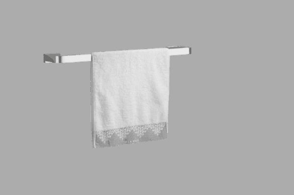 Single Towel rail - Brontes Chrome Range