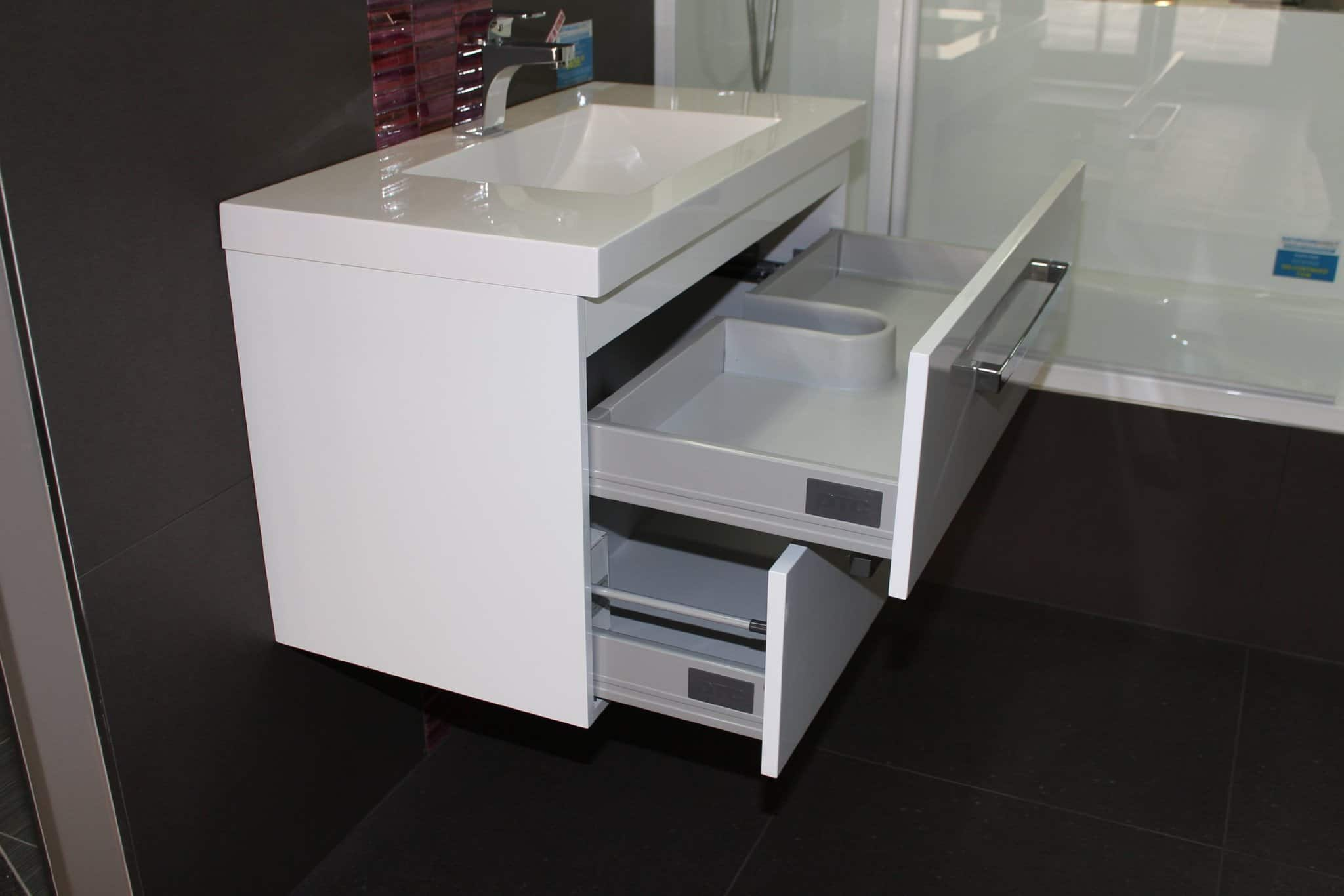 Wall Hung Vanity Strata Duo 900mm Wide Henry Brooks