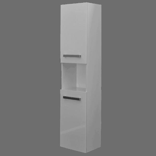 Strata 2 door Tower white -Bathroom Direct