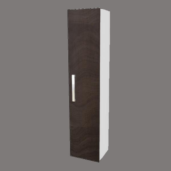 Strata Tall Tower brown woodgrain-Bathroom Direct