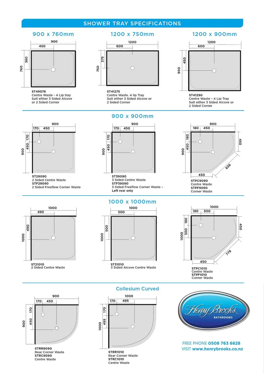 Picture of: Shower Trays Nz