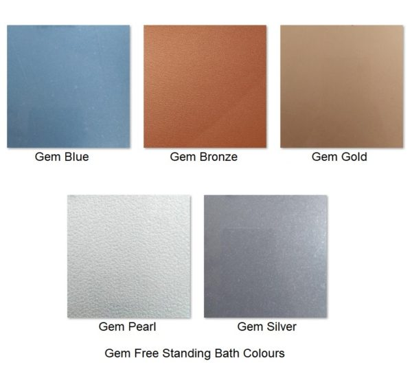 Gem Free Standing bath Colours Henry Brooks