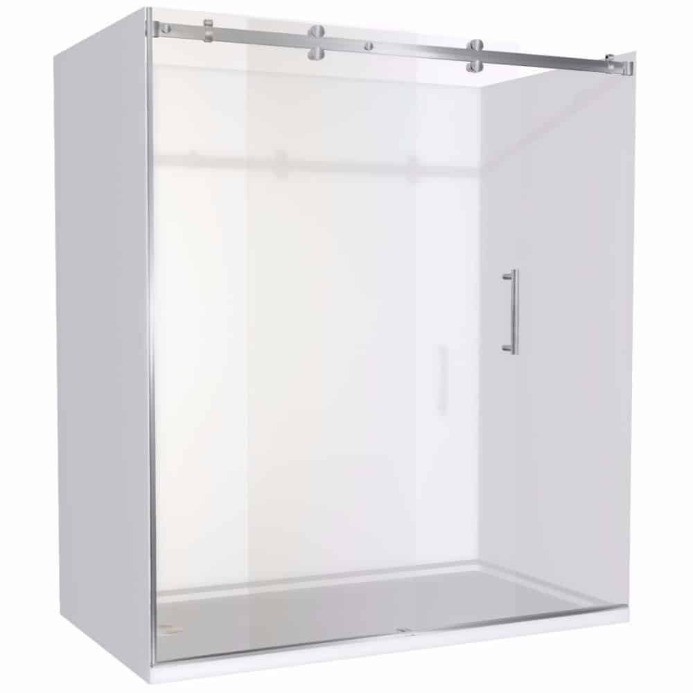 Alcove Shower 1800x900 Complete Dreamline Shower With Tray