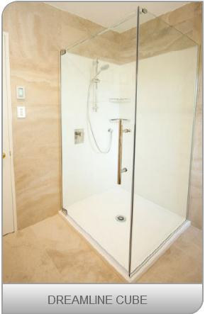 Dreamline showers square Cube design
