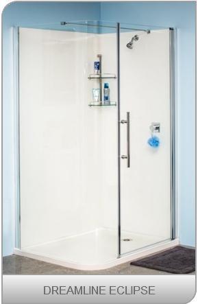 Dreamline showers - 900 x 1200 Eclipse design