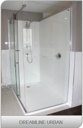 Dreamline showers - Urban shower design