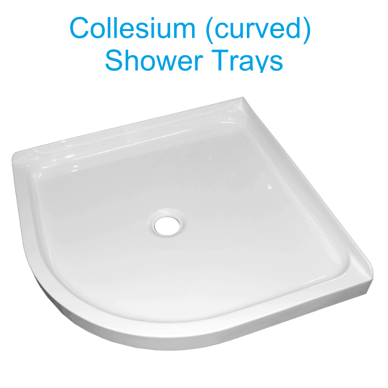Collesium center waste shower trays henry brooks