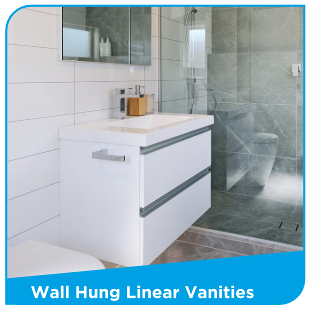 Wall Hung Linear Vanities