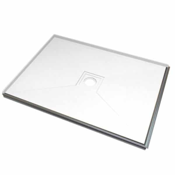 1200 x 900 tileable shower tray Left hand install Henry Brooks