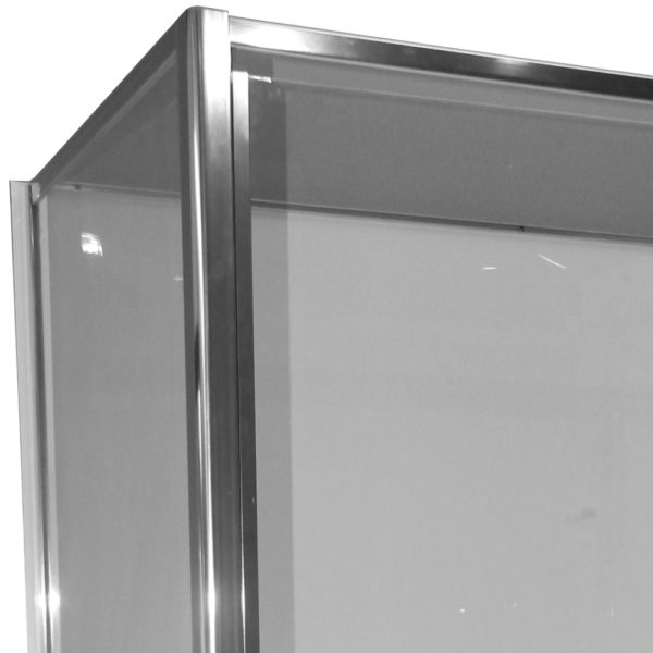 Polished Aluminium Door frame-Henry Brooks