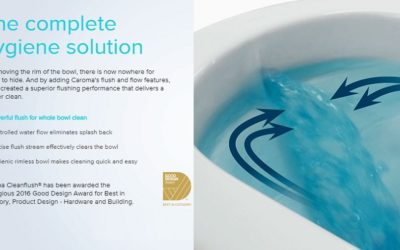 Cleanflush Toilets by Caroma