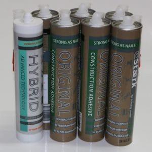 Shower Glue 6 & Silicone 1 Henry Brooks