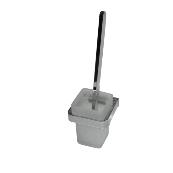 Toilet Brush Holder Brontes Chrome Range bathroom accessories