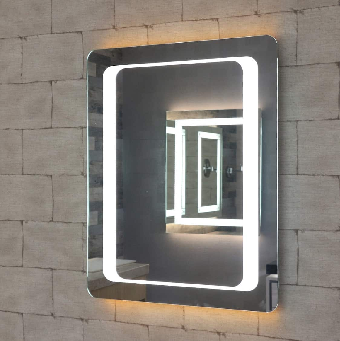 Orion Rectangle Led Mirror Henry Brooks Bathroomware