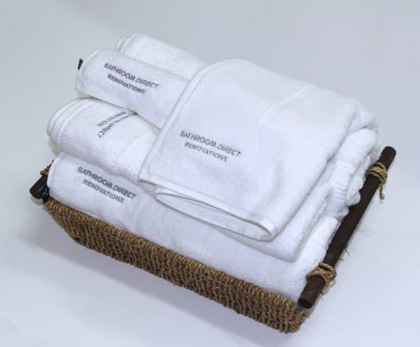 Zero Twist bath Towels