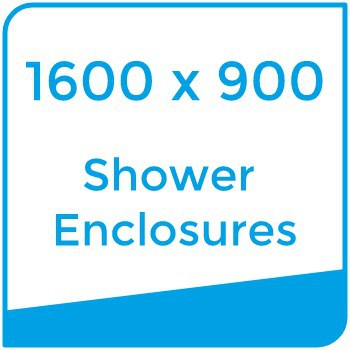 1600 x 900 shower enclosures choose by size