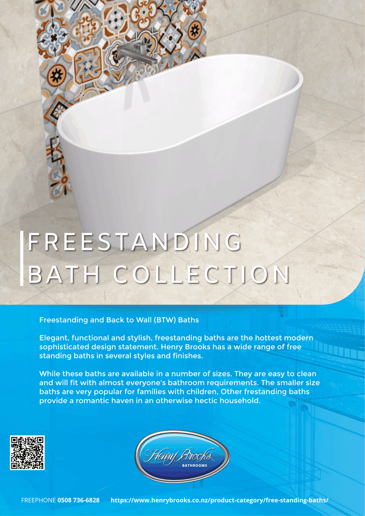Freestanding bath front page 2020