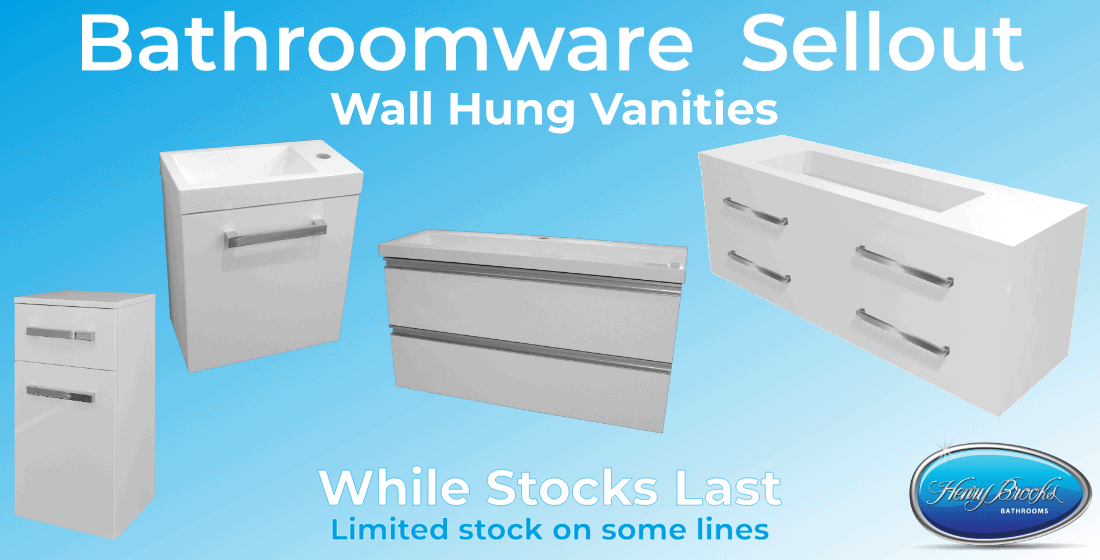 bathroom sale wall hung vanities June-2020