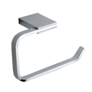 Toilet roll holder square-design-zinc-chrome-bathroom-accessories-henry brooks