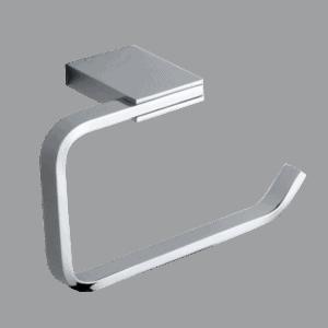 Toilet roll holder square-design-zinc-chrome-bathroom-accessories-henry brooks