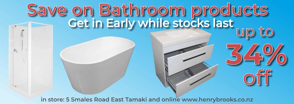 Bathroom Sale Nov - Dec 2020