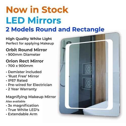 LED-mirrors