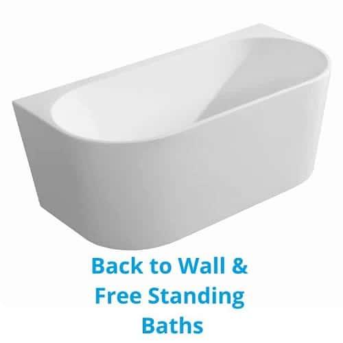 freestanding and BTW baths