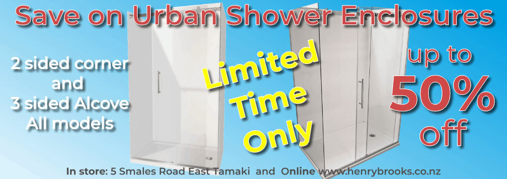 Bathroom Sale Urban Showers April-2021