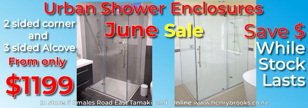 Shower Sale Urban Showers From $1199