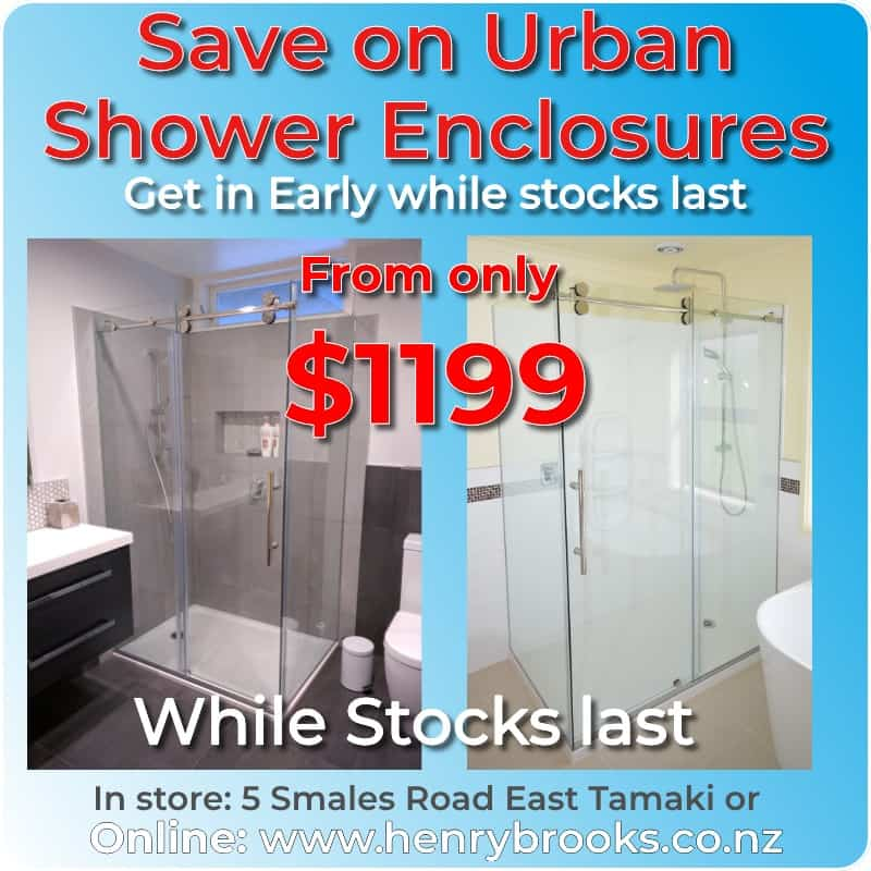Urban Shower enclosure Sale from $1199